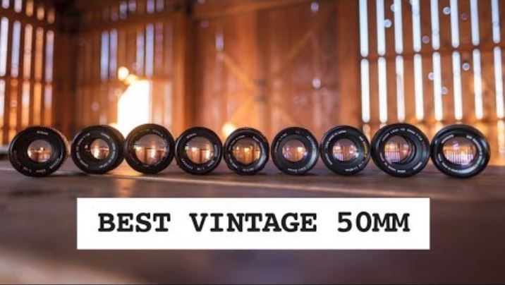 Vintage 50mm Lens Shootout - 10 Lenses, Under $100
