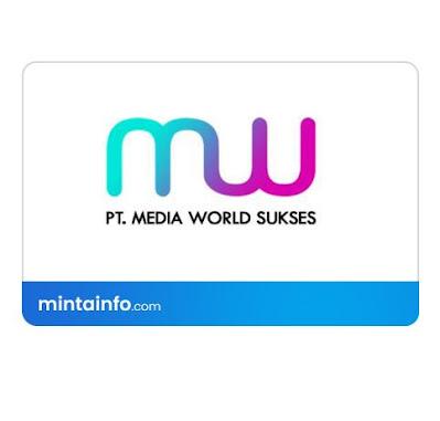 Lowongan Kerja PT. Media World Sukses Terbaru Hari Ini, info loker pekanbaru 2021, loker 2021 pekanbaru, loker riau 2021