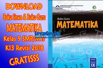 cover buku matematika smp kelas 8 k13
