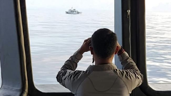 Kronologi KN Nipah Bakamla Usir Coast Guard China di Natuna