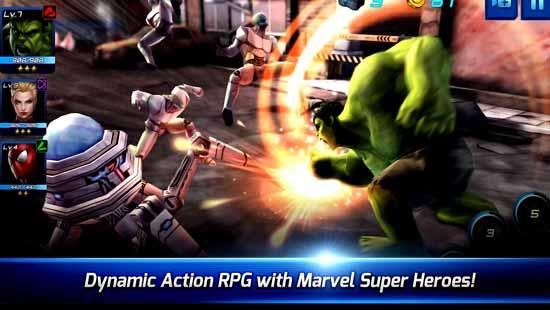 MARVEL Future Fight Mod Apk Android