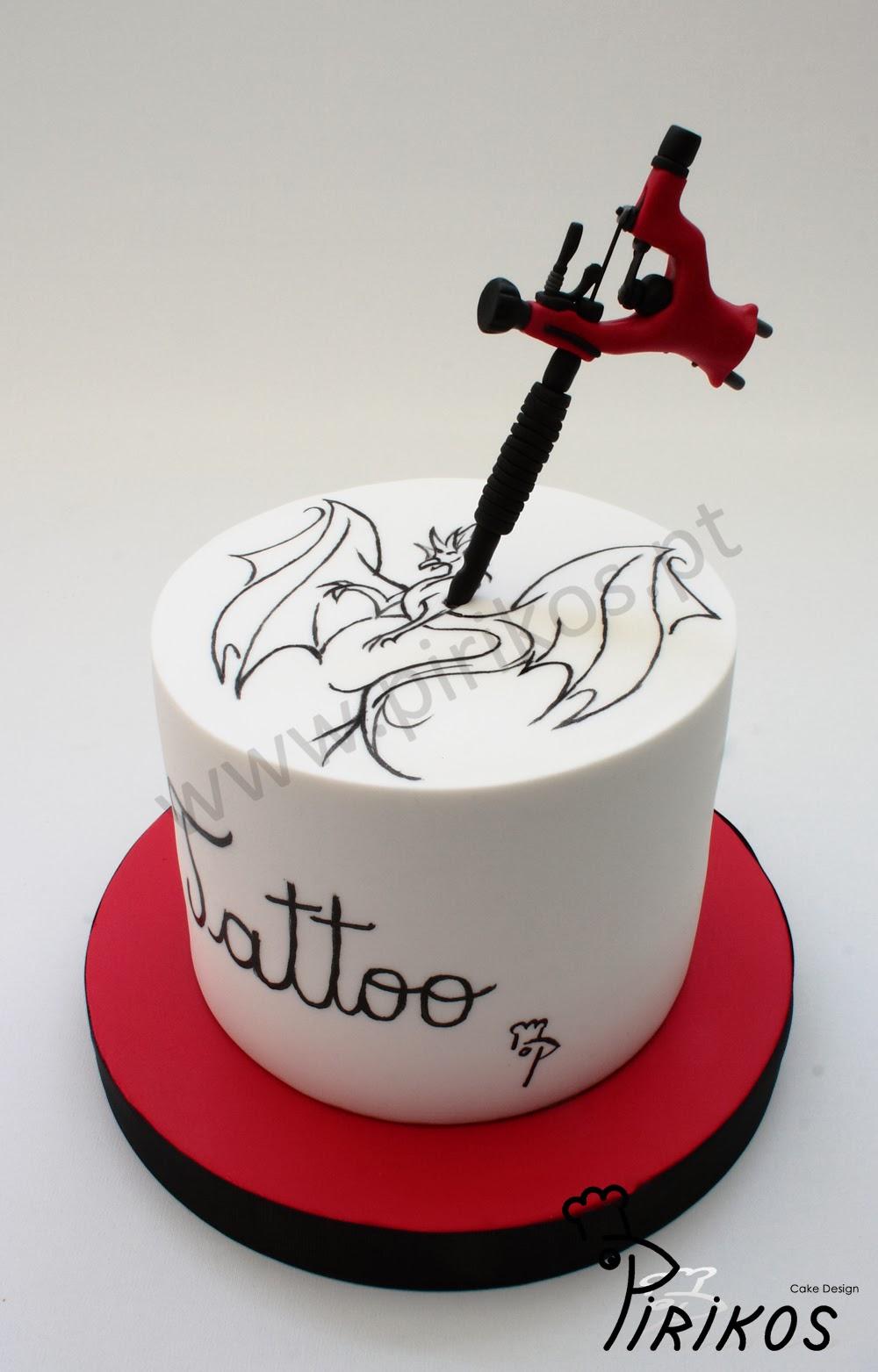 Pirikos Cake Design Bolo Tatto