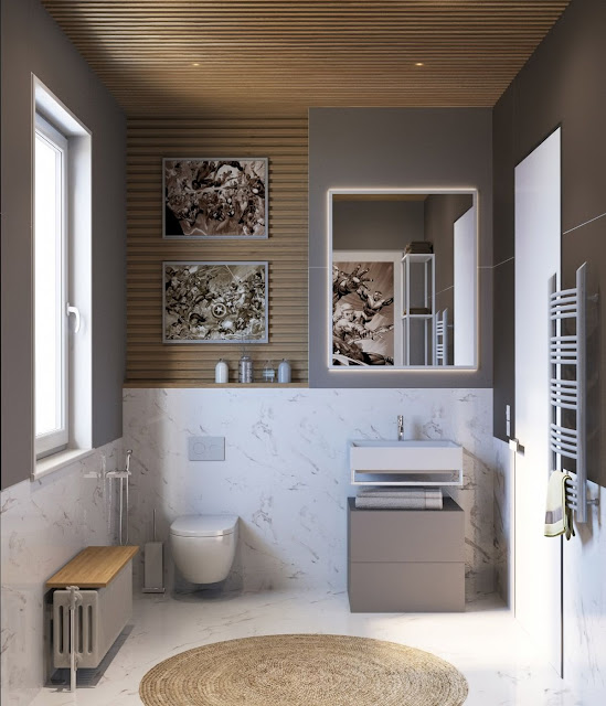 House Bathroom Interior Design