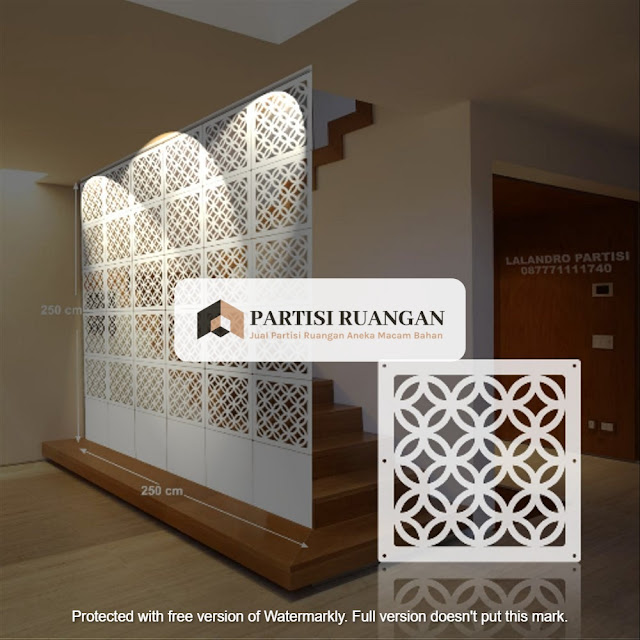 Supplier Partisi Ruangan PVC Ternate