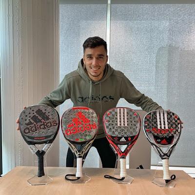 Adidas Pádel y Ale Galán renuevan compromiso contractual para seguir dominando el pádel mundial.