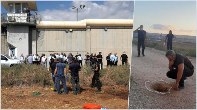 6 Warga Palestina Berhasil Kabur dari Penjara Israel Berkeamanan Tinggi
