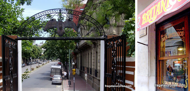 Buenos Aires, Parque Lezama e Bar Britanico