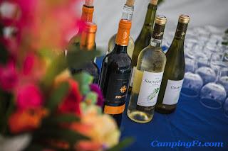 Party at Camping F1 Monaco
