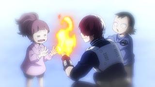 ヒロアカ 5期 轟焦凍 幼少期   Todoroki Shoto ショート   僕のヒーローアカデミア アニメ   My Hero Academia