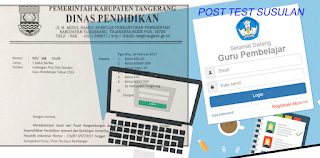 Surat Edaran Disdik Kab Tangerang UKG Susulan