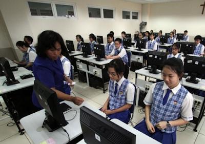 Contoh Soal Menunjukkan Kata yang Tidak Sesuai Kaidah - UNBK SMP 2020