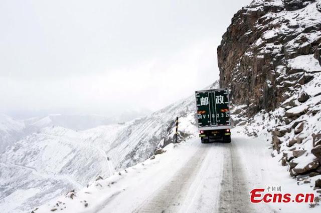 Sichuan - Tibet Expressway, China