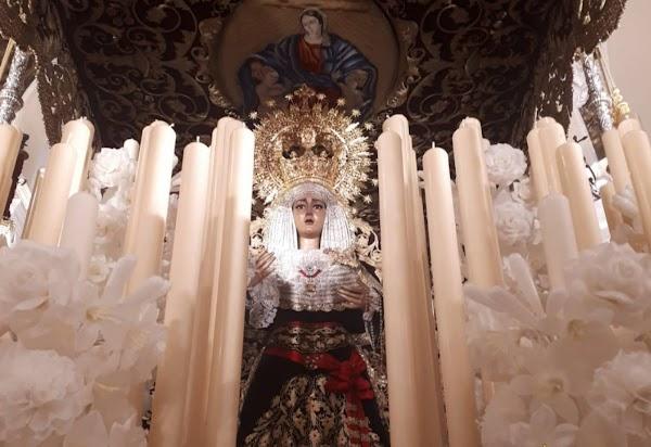 Se cierra la polémica sobre el fajín de Franco que una hermandad de Sevilla sacó en procesión