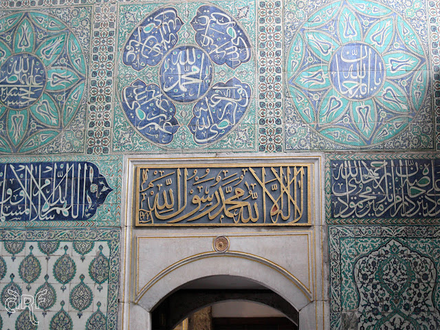 entrance to the Harem, Istanbul