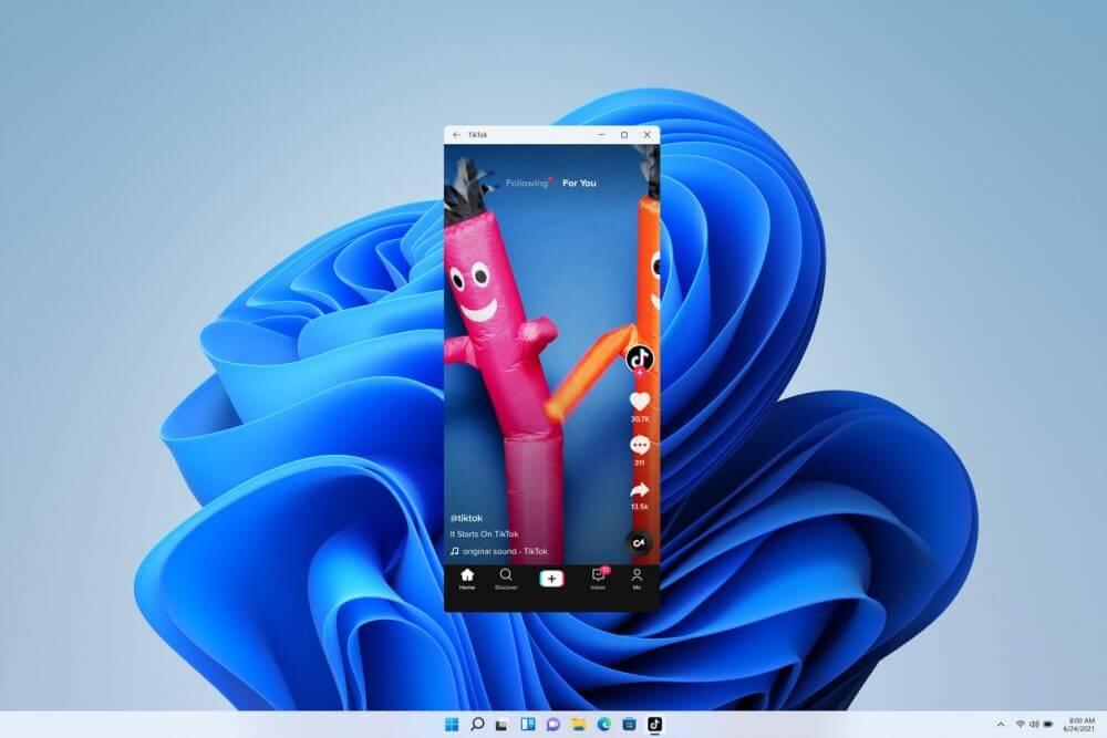 Windows 11 Android Uygulamalarını Başlatma