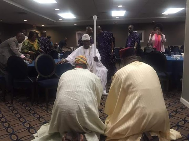 Ooni Of Ife Oba Ogunwusi Arrives New York With 10 Chiefs & 20 Servants, Lodges In New Jersey Hotel
