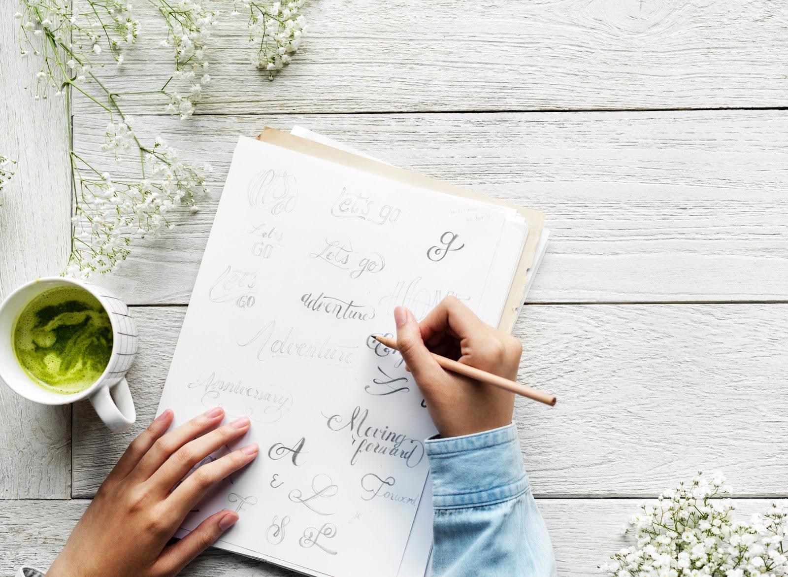 Lettering: A incrível arte de desenhar letras (Parte 2)