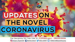 Breaking : Third Case Of Coronavirus Confirmed in Lagos, Nigeria