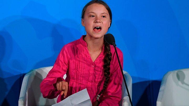 """Eco-fascismo: """"Greta Thunberg"""" ameaça colocar lideres mundiais """"contra a parede"""" se recusarem aderir a agenda do clima"""