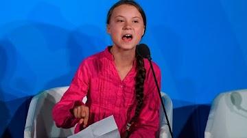 Eco-fascismo: Greta Thunberg ameaça colocar líderes mundiais contra a parede se recusarem aderir a agenda do clima