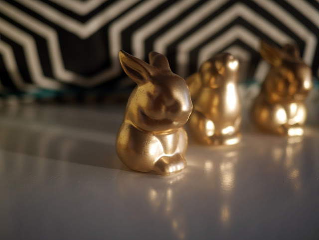 DIY Rabbit wedding decorations