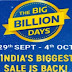 Flipkart : 10% Instant Discount + 5% Unlimited Cashback on Flipkart Axis Credit card during BBD