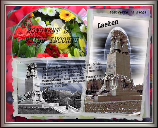 laeken, monument au poilu,soldat inconnulaken, brussels,france, graf, 14-18, grande guerre