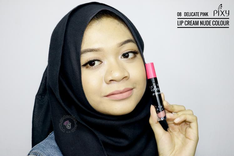 Pixy Lip Cream Nude 08 Delicate Pink