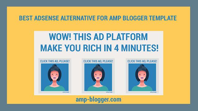 Best Adsense Alternative That Support Google Amp Html