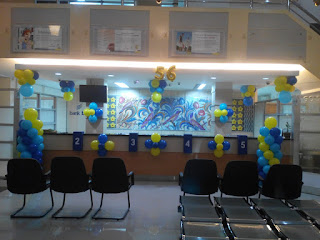 Dekorasi Balon Bank BJB