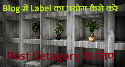 Label post cetagory
