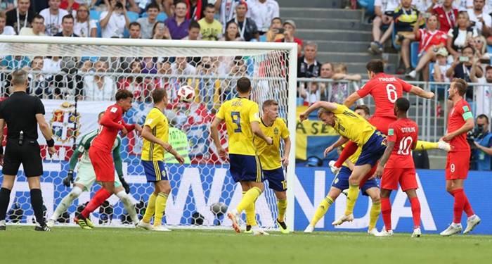 Swedia vs Inggris - Perempat Final Piala Dunia 2018