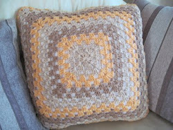 First Crochet Cushion