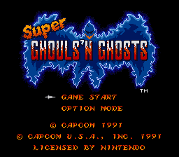super ghouls'n ghosts