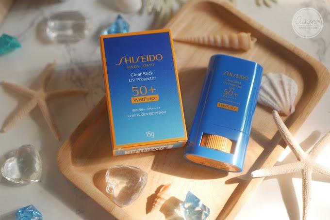 :: อัพเดท ลองใช้ กันแดดตัวใหม่จาก Shiseido ::