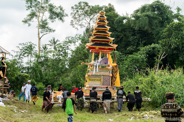 Crémation - Campagne Jatiluwih - Bali