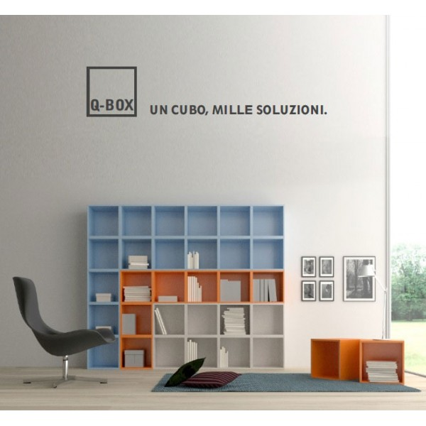 Shoblog shake the ordinary cubi arredo q box nuova for Arredo box