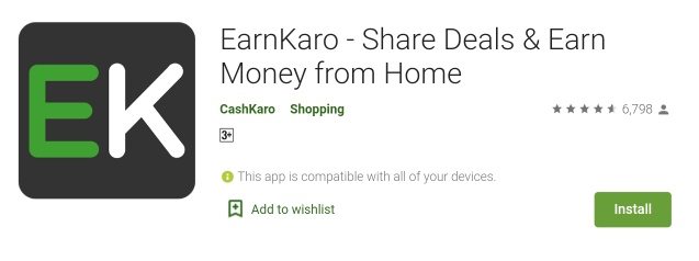 EarnKaro - Share Deals & Earn Money from Home