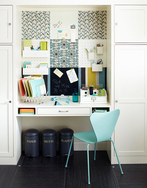 T maree clothing workspace inspiration - Home office organization ideas ...