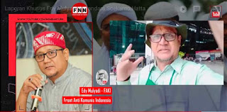 Kedatangannya Disambut Jutaan Umat, Edy Mulyadi: Jokowi Tidak Akan Bisa Seperti HRS