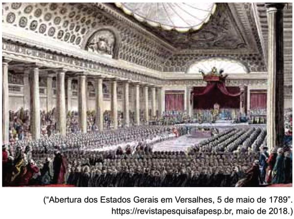 UNESP 2021: Observe a gravura de Isidore-Stanislas Helman (1743-1806).