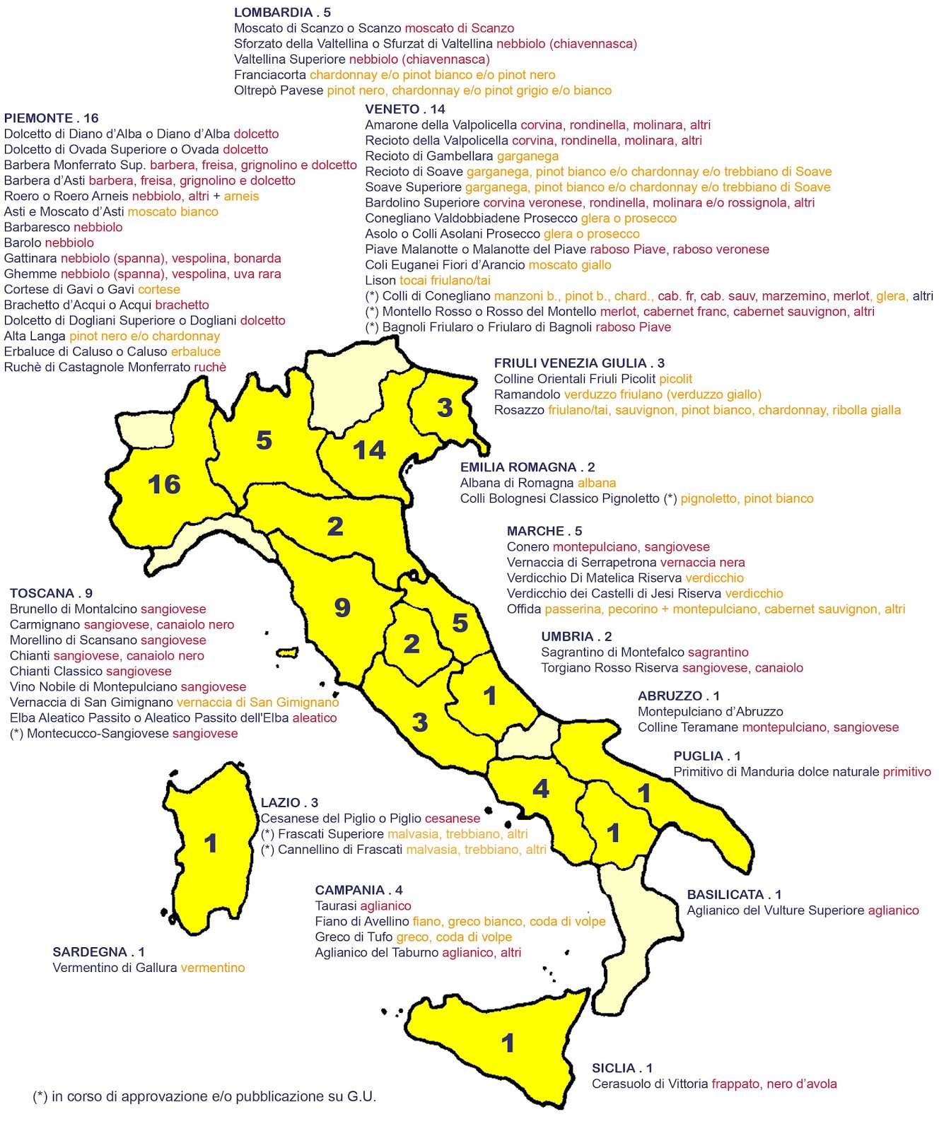 Wine Regions Italy Map.At The Table With Doris Italian Market Italian Wine Regions