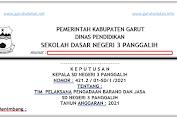 Contoh SK TIM Pengadaan Barang dan Jasa Sekolah