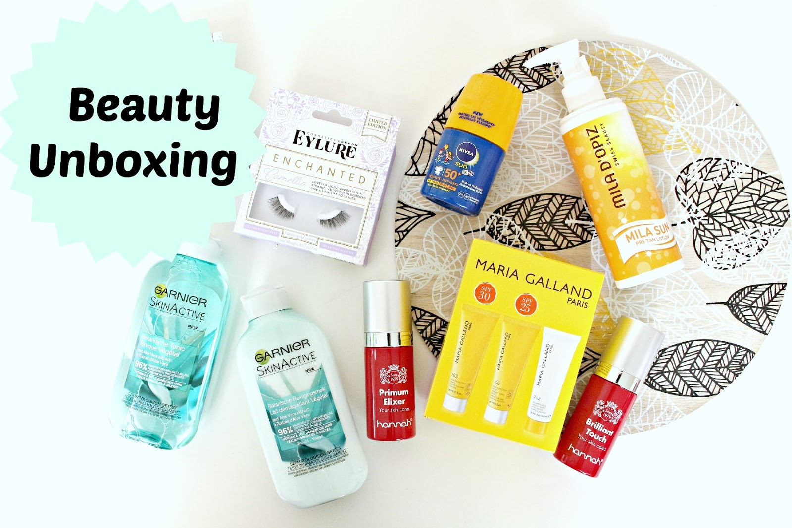 beauty unboxing