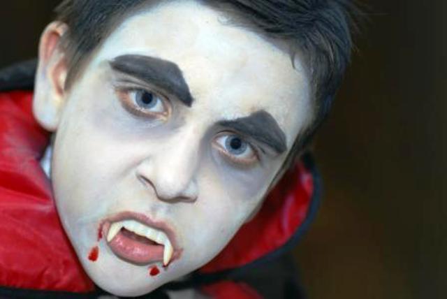 Dracula Face Paint