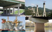 What is bridge pier? Its requirement and types.