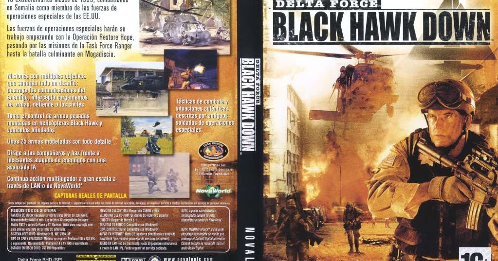 تحميل لعبة delta force black hawk down كاملة