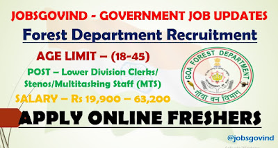 Forest Department Recruitment 2021