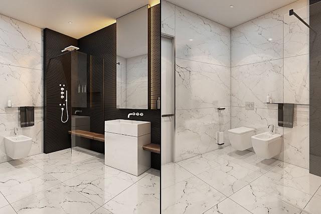 Indian Bathroom Wall Tiles Design