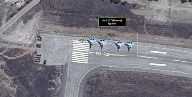 Moscú desplegó aviones rusos en una base aérea en Irán